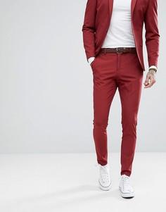 Супероблегающие брюки Selected Homme - Красный