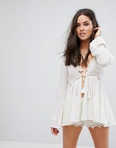 Пляжное кимоно All About Eve - Белый