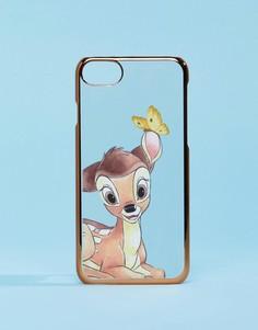 Чехол для iPhone 6/6S/7/8 с принтом Бэмби Disney - Мульти