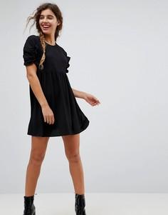Свободное платье мини ASOS - Черный