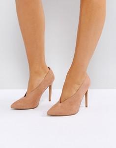 Туфли на высоком каблуке ASOS PRIORITY - Бежевый