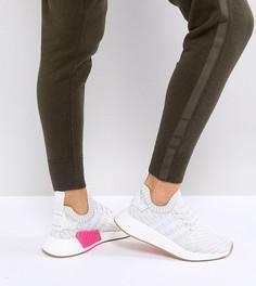 Белые кроссовки adidas Originals NMD R2 - Белый