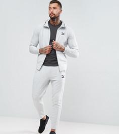 Серый облегающий спортивный костюм Puma эксклюзивно для ASOS - Серый