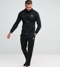 Черный облегающий спортивный костюм Puma эксклюзивно для ASOS - Черный