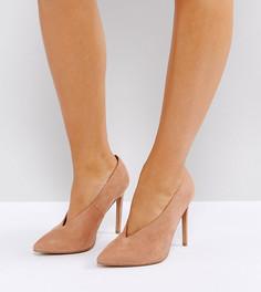 Туфли для широкой стопы на высоком каблуке ASOS PRIORITY - Бежевый