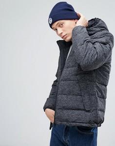 Черная дутая куртка с двойным капюшоном North Sails HiViz - Черный