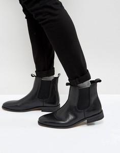 Кожаные ботинки челси Bellfield - Черный