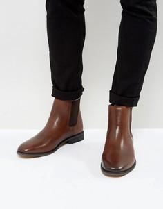 Кожаные ботинки челси Bellfield - Коричневый
