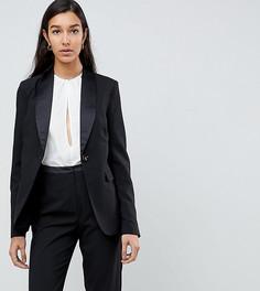 Блейзер-смокинг Fashion Union Tall - Черный