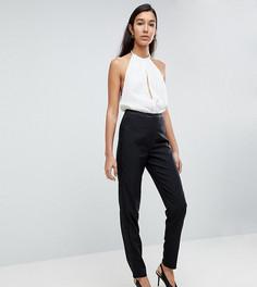 Зауженные брюки под смокинг Fashion Union Tall - Черный