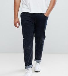 Серые джинсы скинни с эффектом кислотной стирки Liquor N Poker PLUS - Серый