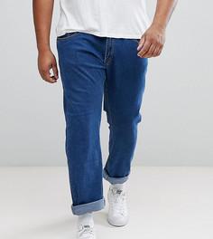 Синие узкие укороченные джинсы Liquor N Poker PLUS - Синий