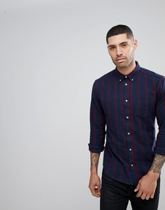 Рубашка на пуговицах Wrangler Windsor Wine - Темно-синий