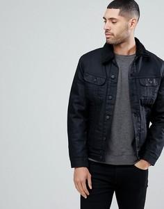 Куртка с искусственным мехом Lee Rider - Черный