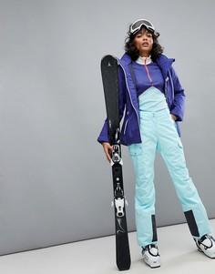 Голубые горнолыжные брюки карго Helly Hansen - Синий
