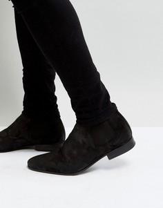 Ботинки челси со звездами ALDO Valewen - Черный