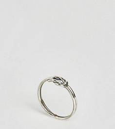 Серебряное кольцо с узлом Reclaimed Vintage Inspired - Серебряный