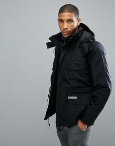 Черная куртка 3 в 1 Jack Wolfskin Century - Черный