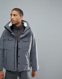 Черная куртка 3-в-1 Jack Wolfskin Fraser Canyon - Серый