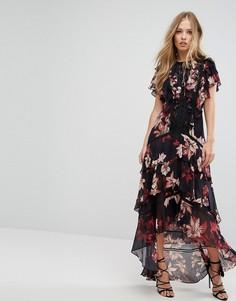 Платье макси с цветочным принтом Forever New - Мульти