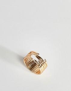 Кольцо на большой палец ASOS - Золотой