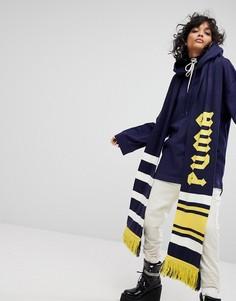 Длинный шарф Puma X Fenty - Синий