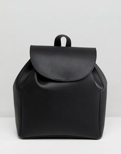 Мягкий лаконичный рюкзак ASOS - Черный