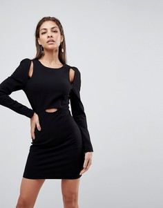 Платье мини Finders Keepers Leon - Черный
