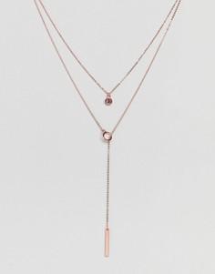 Подарочный набор с комбинируемыми ожерельями Johnny Loves Rosie - Золотой