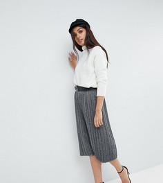 Плиссированная юбка миди Vero Moda Tall - Черный