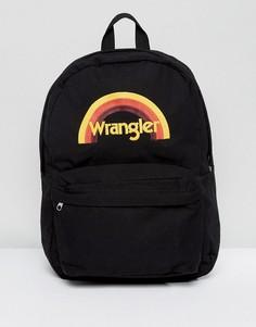 Рюкзак с логотипом Wrangler - Черный