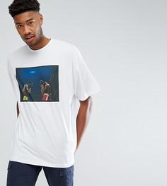 Оверсайз-футболка с фотопринтом ASOS TALL - Белый