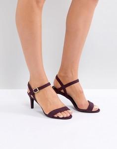 Босоножки на низком каблуке New Look - Фиолетовый