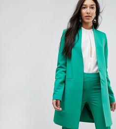 Блейзер без воротника с подплечниками Y.A.S Tall - Зеленый
