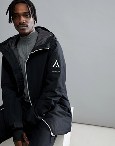 Черная горнолыжная куртка Wear Colour Stride - Черный