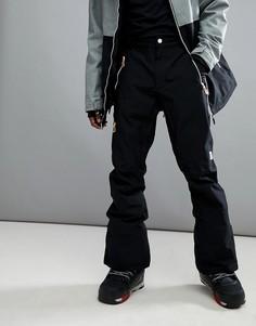 Черные горнолыжные брюки слим Wear Colour Sharp - Черный