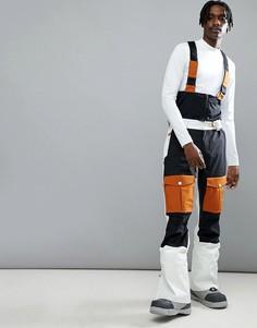 Белые горнолыжные брюки Wear Colour Falk - Белый