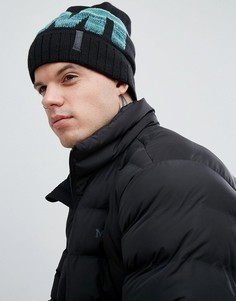 Черная шапка-бини с логотипом Marmot Ferdi Thermolite - Черный