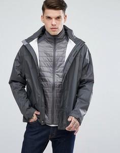 Темно-серая водонепроницаемая куртка из ткани рипстоп с капюшоном Marmot PreCip - Серый