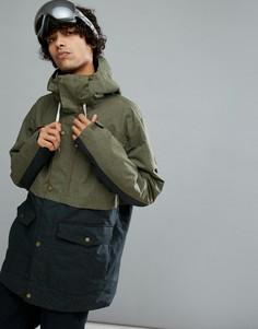Лыжная куртка цвета хаки Quiksilver Horizon - Зеленый