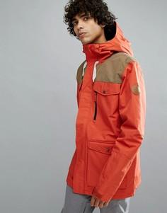 Красная горнолыжная куртка Quiksilver Raft - Красный