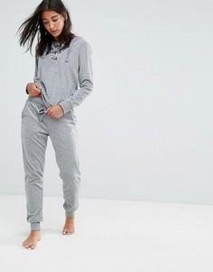 Бархатные брюки Hunkemoller - Серый