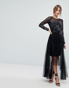 Платье макси Coast - Черный
