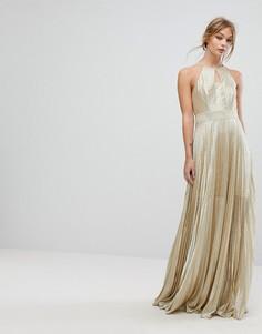 Платье макси Coast Tyler - Золотой