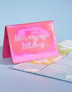 Обложка для паспорта Bon Voyage Bitches Skinnydip - Мульти