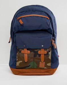 Рюкзак с камуфляжным принтом Nixon Canyon - Темно-синий