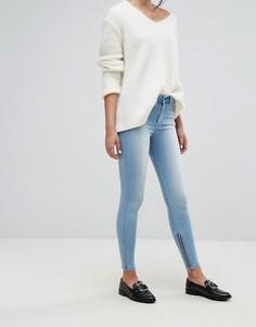 Укороченные джинсы с классической талией Dr Denim - Синий