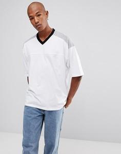 Свободная белая футболка ASOS - Мульти