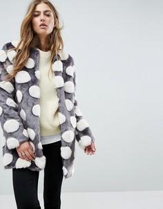 Искусственный полушубок Unreal Fur - Мульти