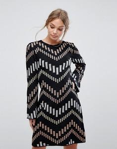 Свободное платье Ted Baker - Черный